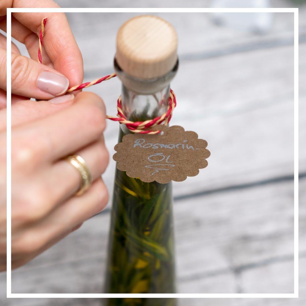 Rosmarin Öl, Flasche, Geschenk