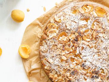 Marillen-Mandel Kuchen