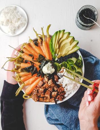 Homemade Sushi Bowl