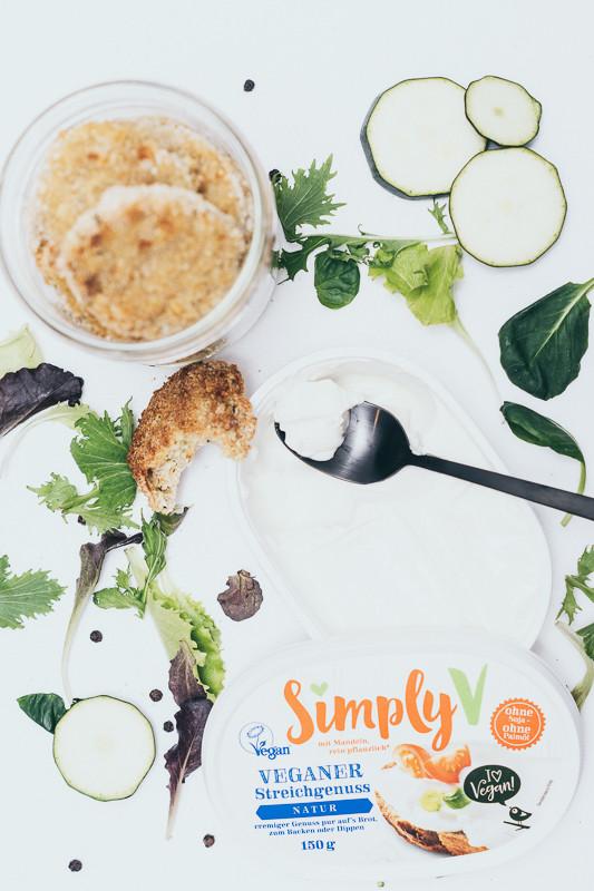 SimplyV, Zucchinilaibchen, Salat