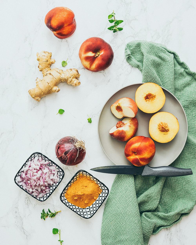 Früchte, Chutney, Essen