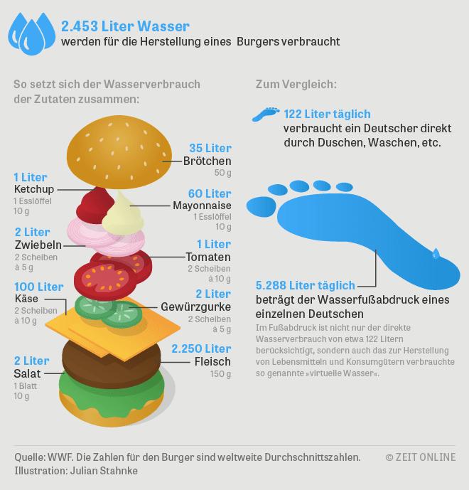 Fußabdruck Hamburger, ZDF,