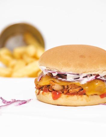BBQ-Jackfruit Burger