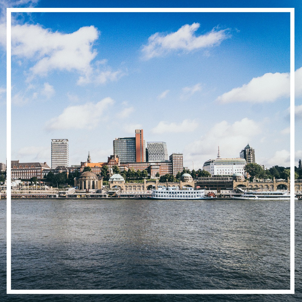 Hamburg, Skyline, Hansestadt, Elbe