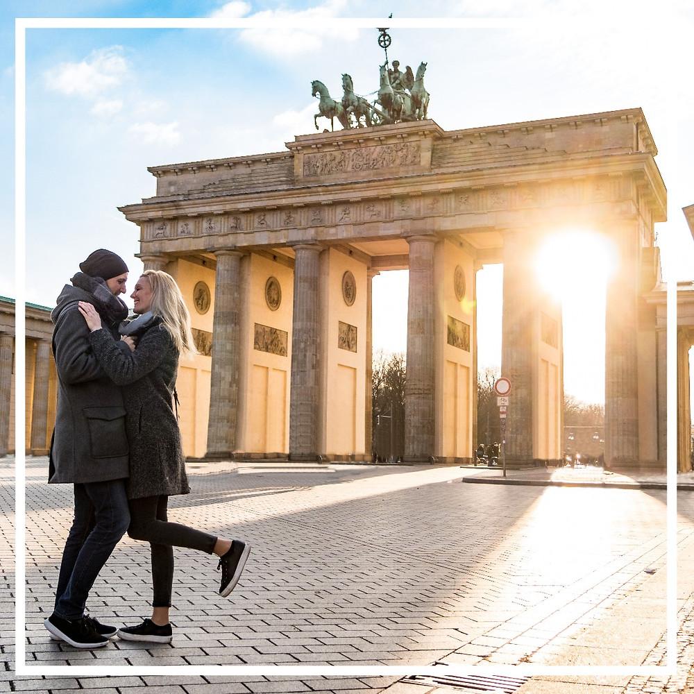 Brandenburger Tor, Paar, City Trip