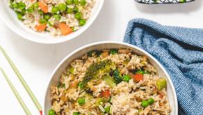 Schneller gebratener Reis