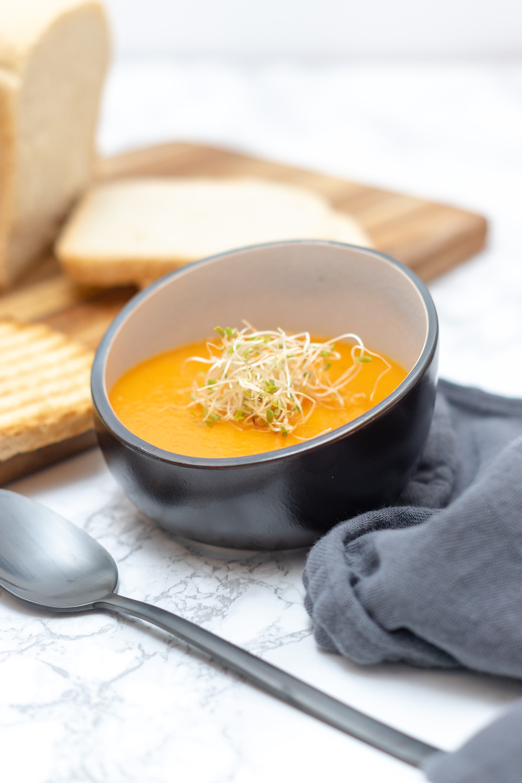 Suppe, Brot, Sprossen