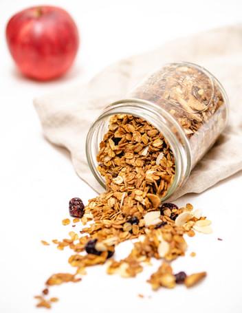 Crunchy-Bratapfel-Granola