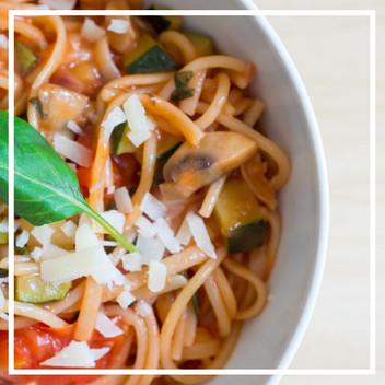 One Pot Pasta: alles aus einem Topf