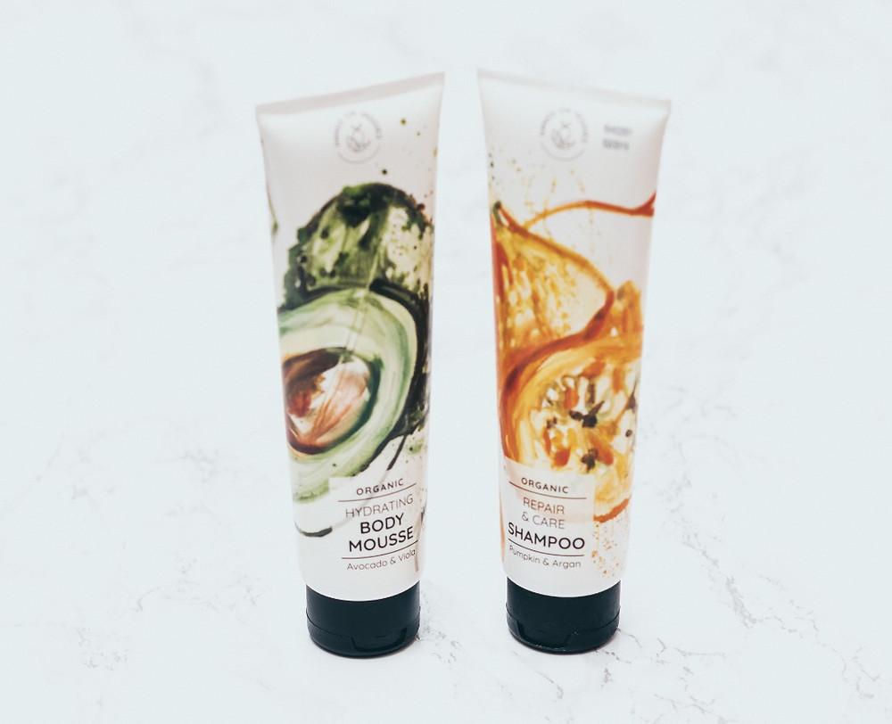 Body Mousse, Shampoo, Organic