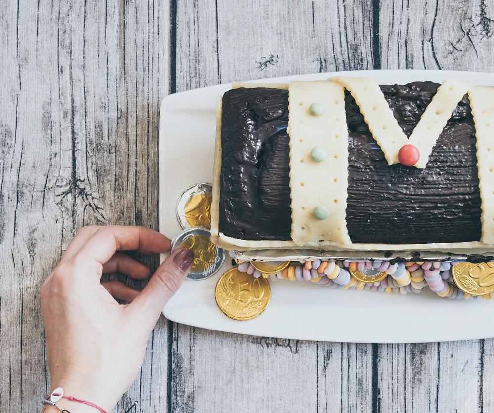 Schokoladenkuchen, Geburtstag