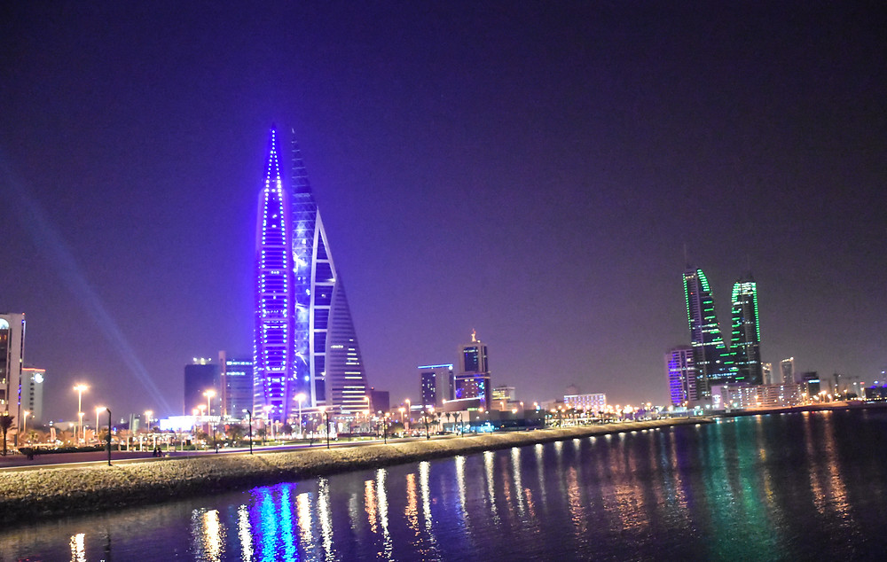 Skyline, Bunt, Bahrain