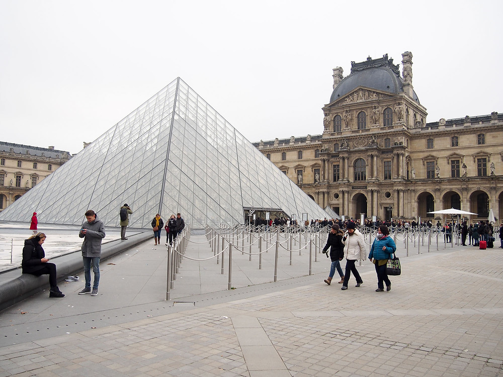 Louvre, Paris, Urlaub