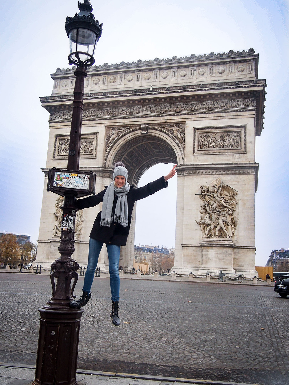Manuela, Triumphbogen, Paris