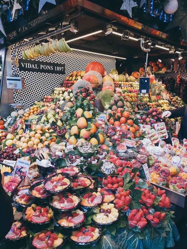 Markthalle, Gemüse