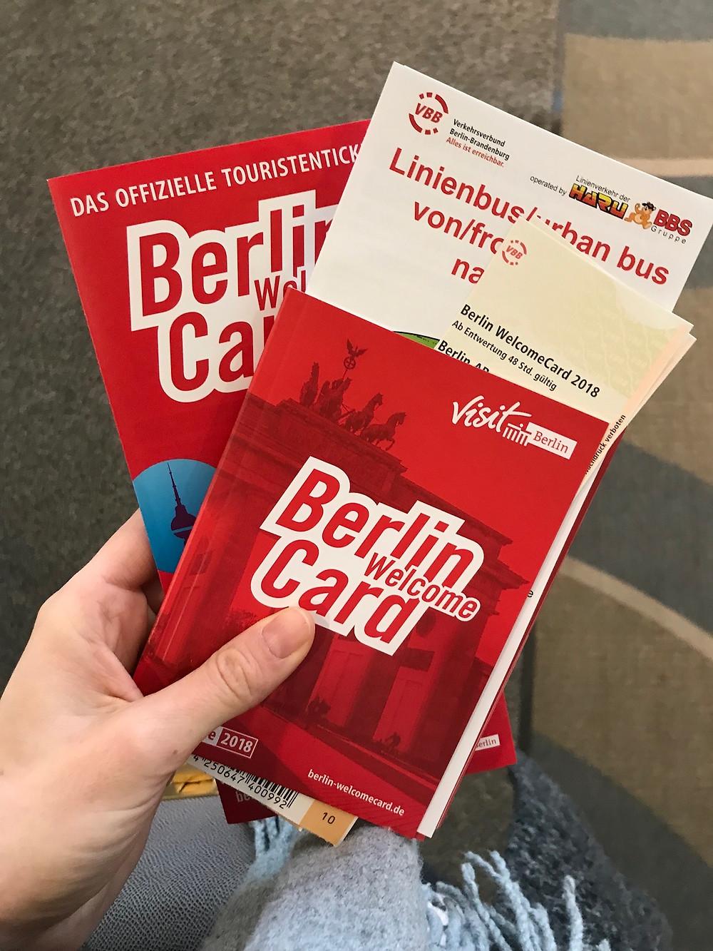 Berlin, Berlin Card, Fahrkarte
