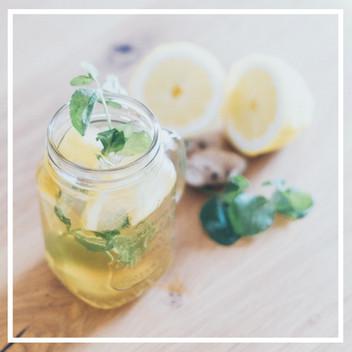 Zitronen-Ingwer Limonade schnell selbstgemacht