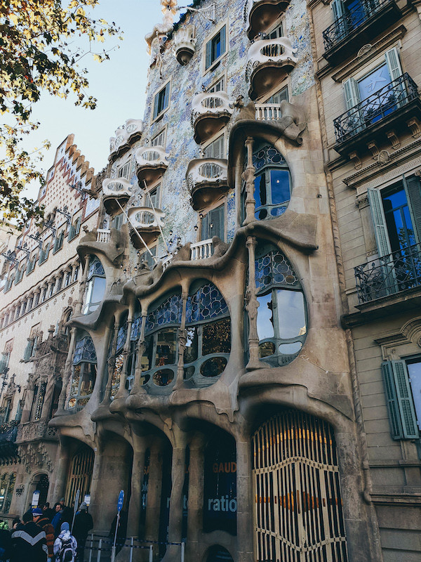 Barcelona, Gaudi, Haus