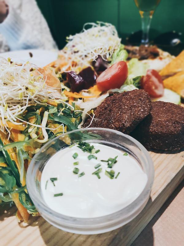 Veganes Essen, Vegetasia, Restaurant