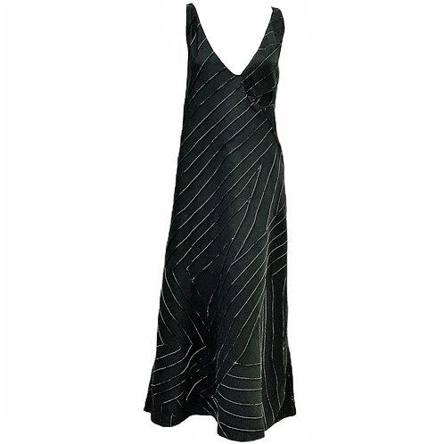 Vestido Linho Nervurado