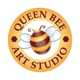queen bee 30mm sticker.jpg