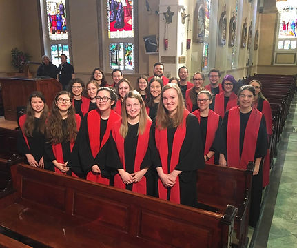 Le choeur Ad Vitam anime le Jour du Seigneur à ICI Radio-Canada.