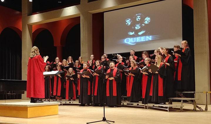 Concert du choeur Ad Vitam à la salle Henri-Gagnon