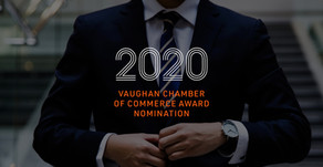 PICCO Nominated for a Vaughan Chamber of Commerce award