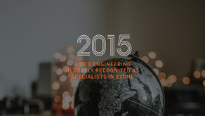 PICCO Engineering Globally Recognized as Specialists in Stone