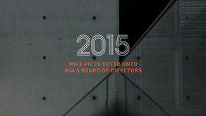 PRESS RELEASE—Mike Picco Voted onto the MIA's Board of Directors