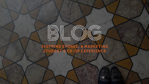Stepping Stones: A Marketing Student's Co-op Experience