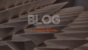 Is Design to Fab a Fad?