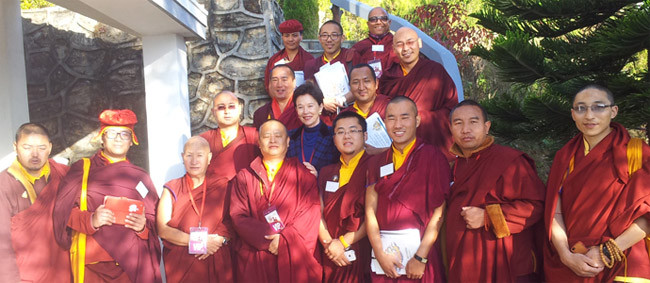 Leadership & Management workshop for young leading Rinpoche and Kempho masters