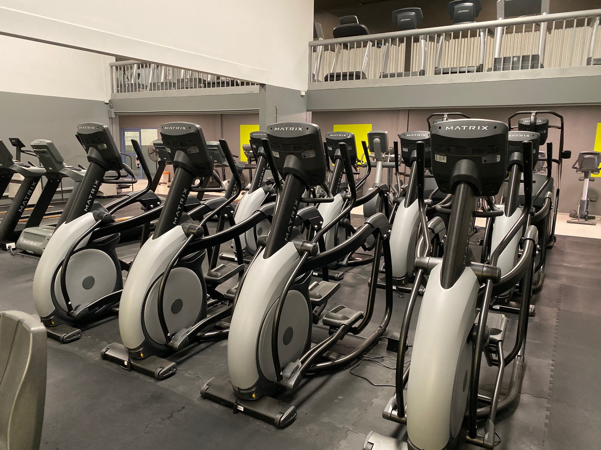 Elipticals, Treadmills & Stairmaster