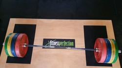 Lifting Platform and Bumper Plates