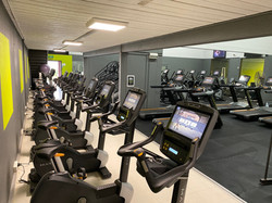 Stationary Bikes, Treadmills
