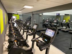 Stationary Bikes, Treadmills