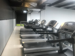 Upstairs Cardio Area