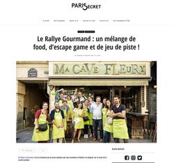 Article Paris secret