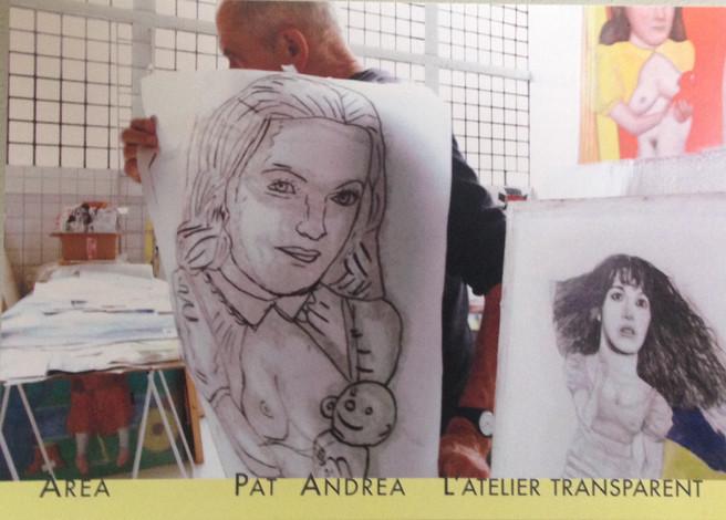Pat Andrea - L'atelier transparent