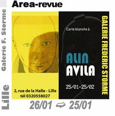 Carte blanche à Alin Avila