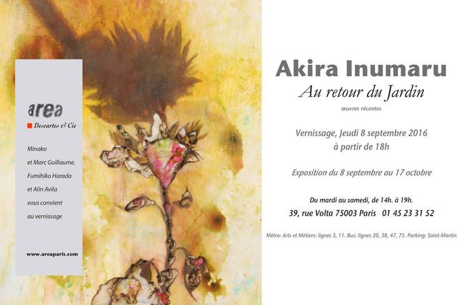 """Exposition d'Akira Inumaru""""Au retour du Jardin"""""""