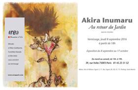 Akira Inumaru - Au retour du jardin