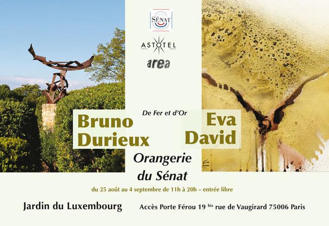 """Orangerie du Luxembourg : """"De fer et d'or"""""""