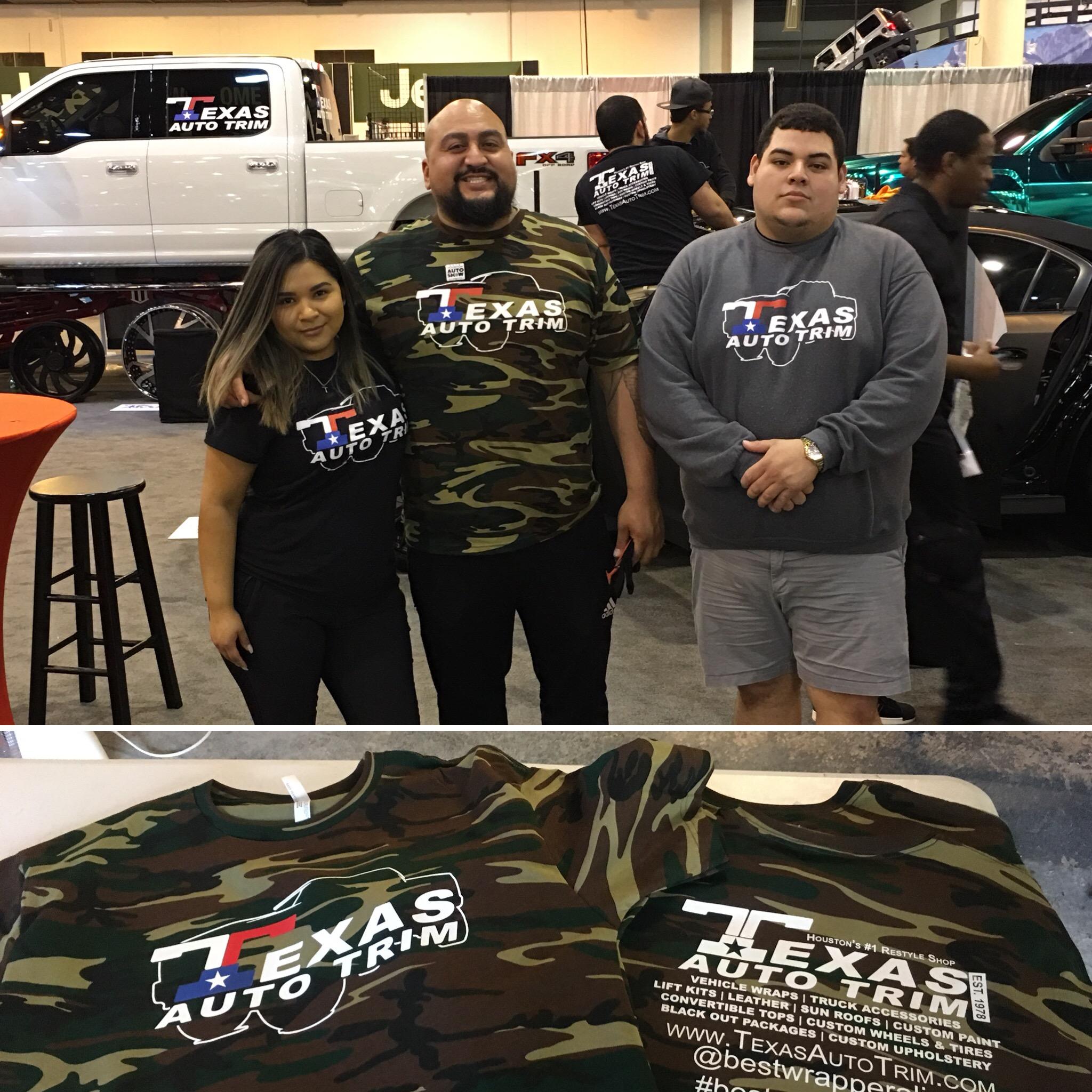 Texas Auto Trim >> Our Work Tercer Print Shop