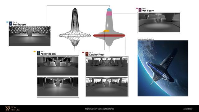Matchscreen Concept Sketches