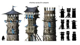 Viking Watch Tower