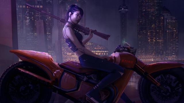 Cyberpunk Mercenaries