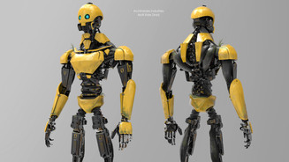 Droid Character Design