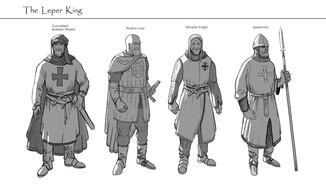 NPC Warrior Design